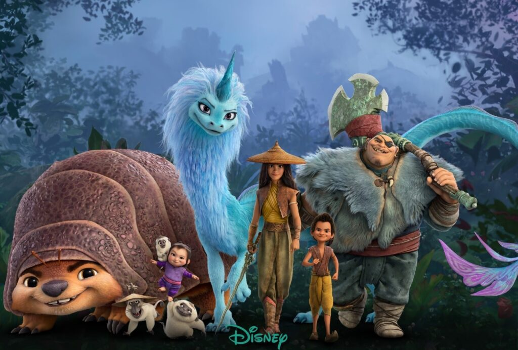 Raya And The Last Dragon Three New Posters And Promo Image - Cartoon Images